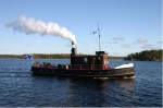 Флотилия в стиле ретро прибывает в Санкт-Петербург