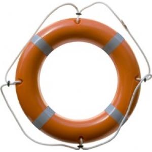 Круг спасательный КС-02 (4,   3 кг)    Срок службы – 10 лет