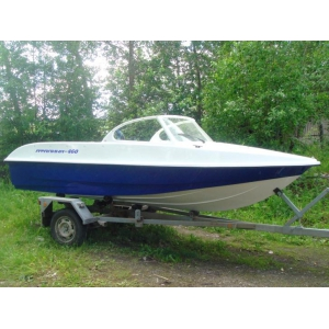 Продаем лодку (катер)  Афалина 460