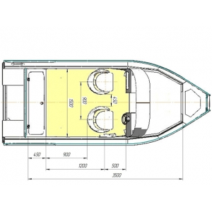 Продажа катеров Беркут M Jacket,    организуем доставку по России